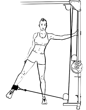 Cable Hip Abduction