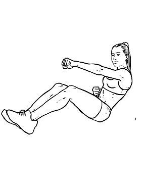 Sitting Punches