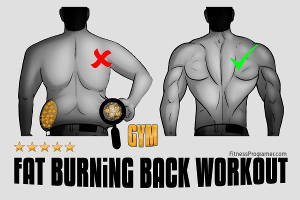fat burning back workouts