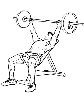 İncline Barbell Bench Press