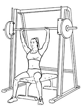Smith Machine Shoulder Press