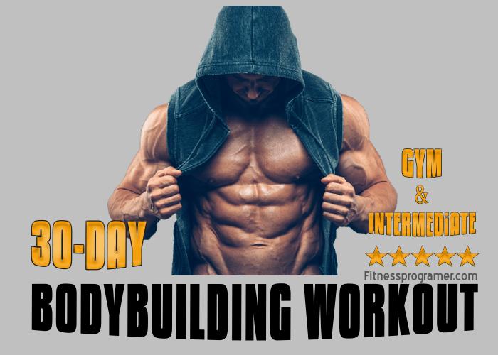 4-Week Muscle Building Workout Plan