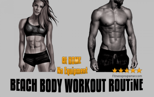 Beach Body Workout Routine