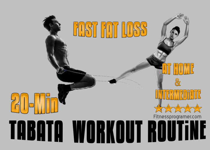 20-Minute Tabata Workout for Fast Fat Loss