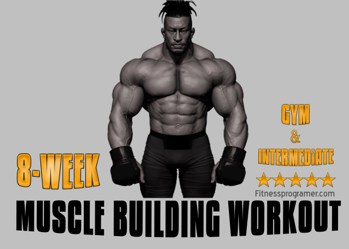 8 Week Workout Plan to Build Muscle (Intermediate)