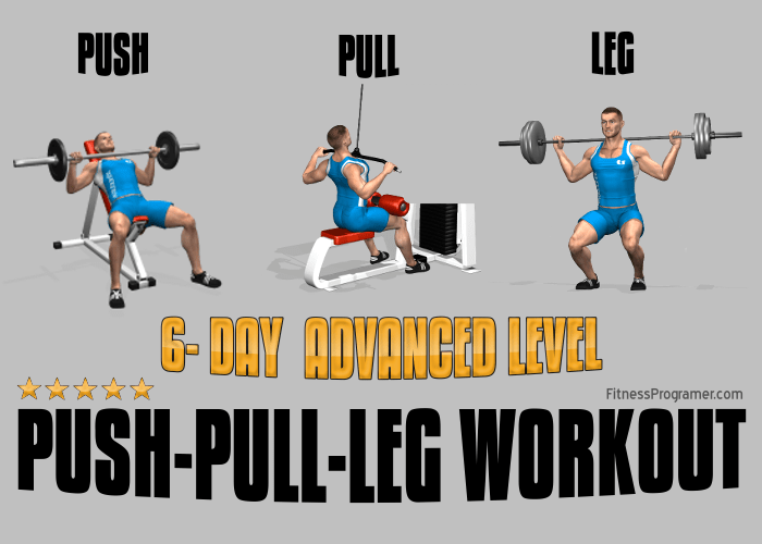 6-Day Push-Pull-Leg Workout for Advanced Lifters