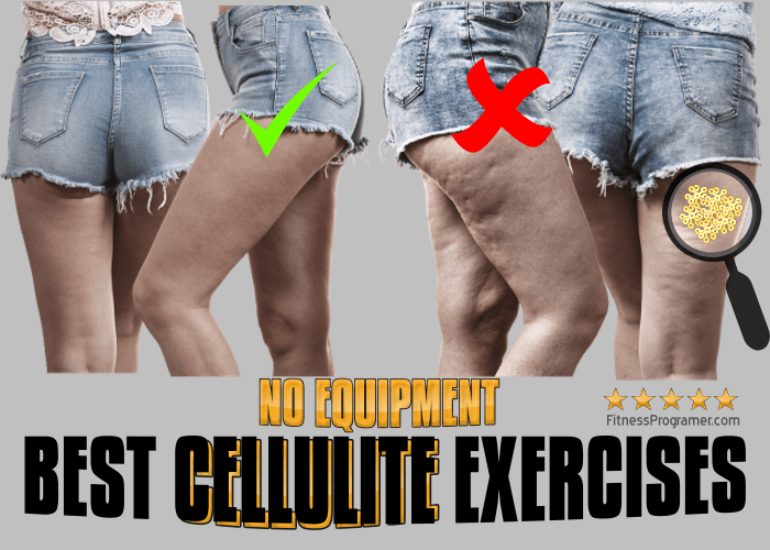 10 Best Bodyweight Exercises to Get Rid of Cellulite