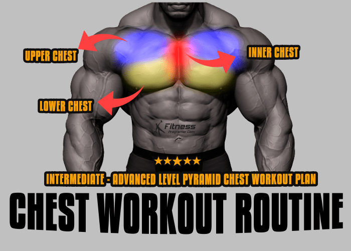 Pyramid Chest Workout Routine