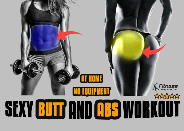 Sexy Butt and Abs Workout
